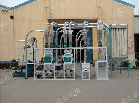 10吨面粉加工成套设备