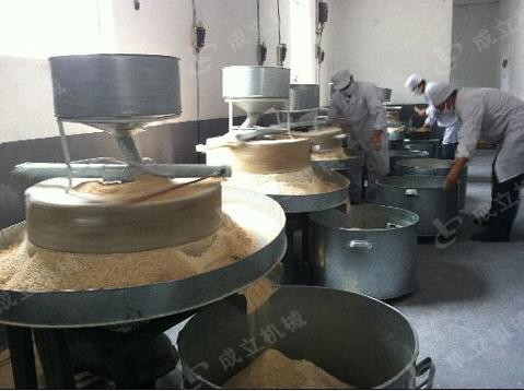12组石磨面粉机