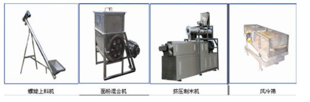 黄金米设备生产线